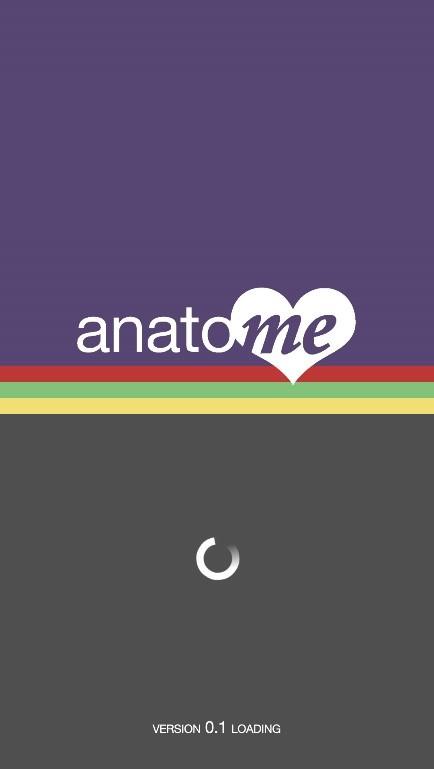 Anatome intro screen