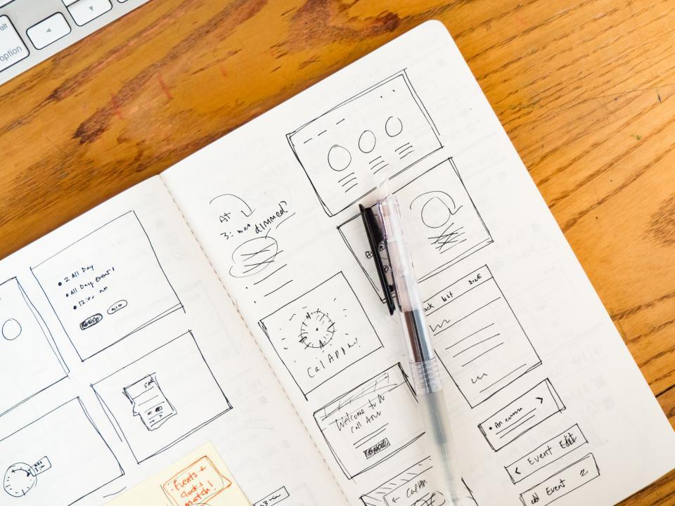 UML design on paper