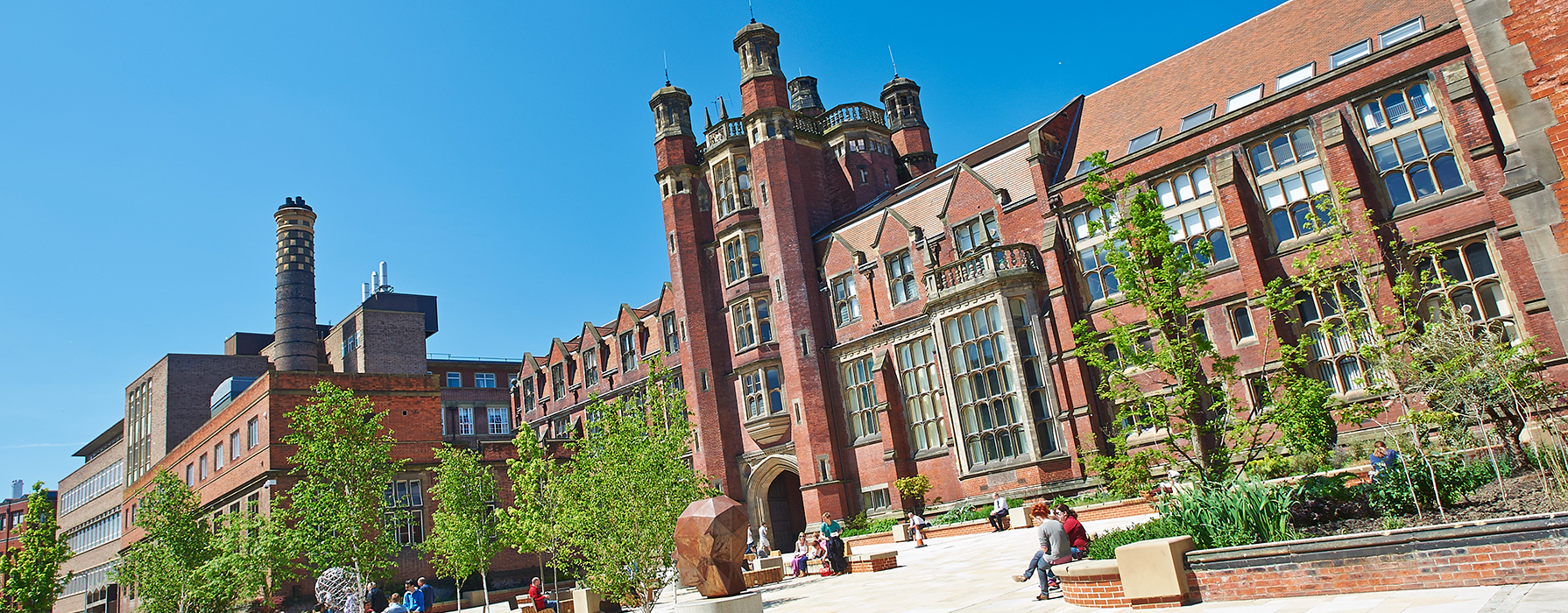 Newcastle University campus