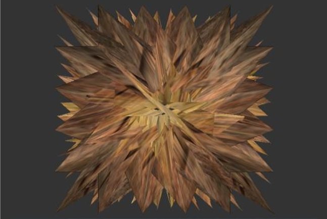 A tessellation shader mimicking an explosion