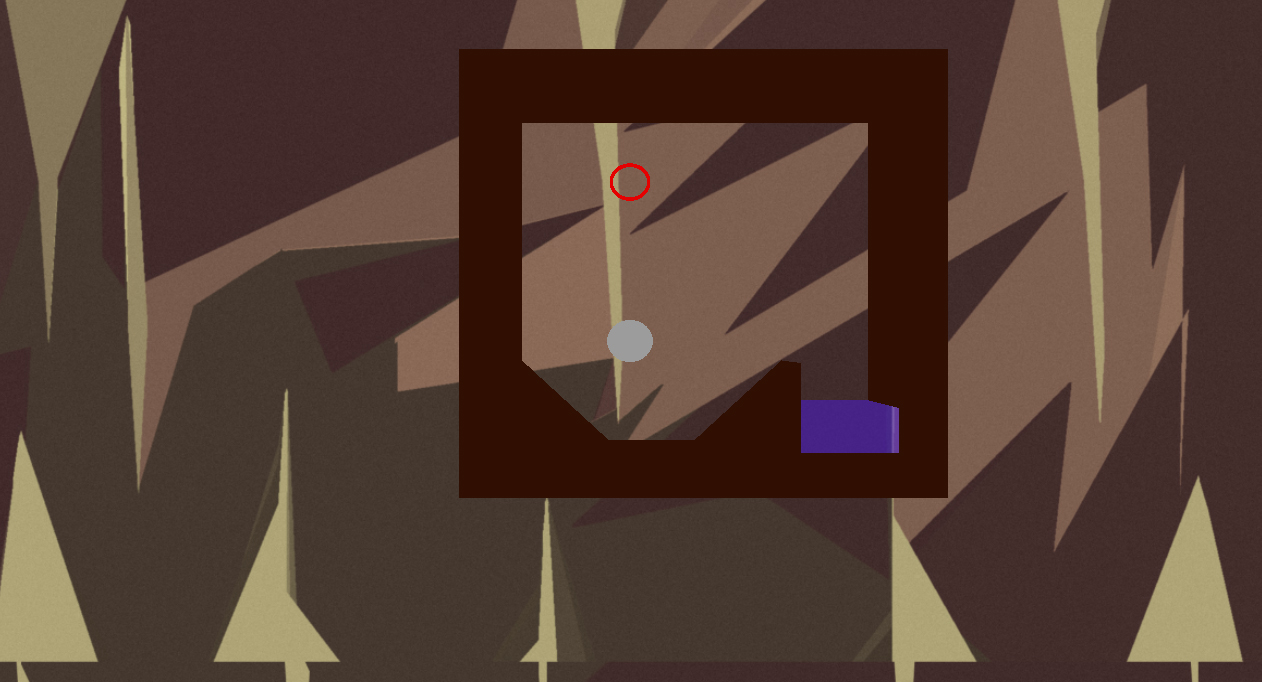 A screenshot of the starting area of the game